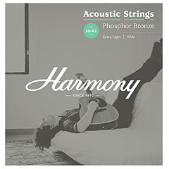 Harmony HA01 Extra Light, Phosphor Bronze 010-047 « Cuerdas guitarra acúst.