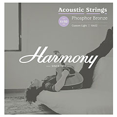Harmony HA02 Custom Light, Phosphor Bronze 011-052 « Cuerdas guitarra acúst.
