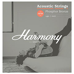 Harmony HA03 Light, Phosphor Bronze 012-053 « Corde guitare folk
