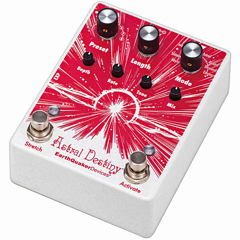 Pedal guitarra eléctrica EarthQuaker Devices Astral Destiny - Octal Octave Reverberation