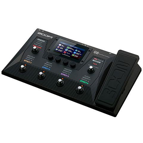 Multi-effets guitare électrique Zoom G6