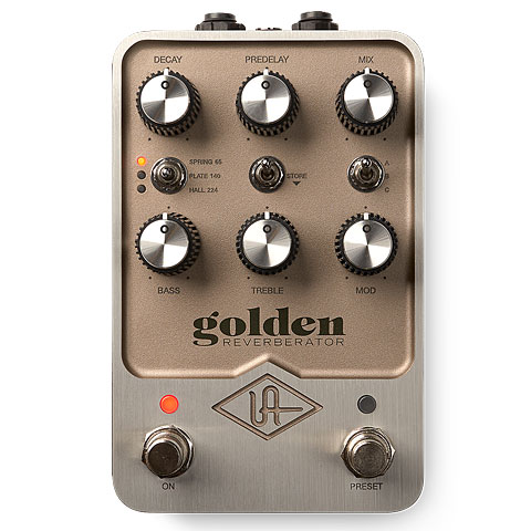 Effektgerät E-Gitarre Universal Audio Golden Reverb