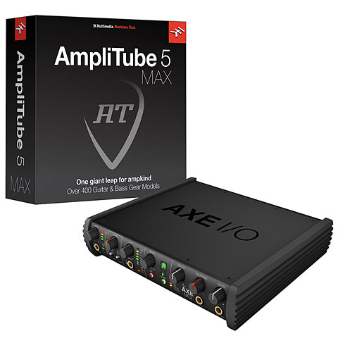 Audio Interface IK-Multimedia AXE I/O + AmpliTube 5 MAX Set