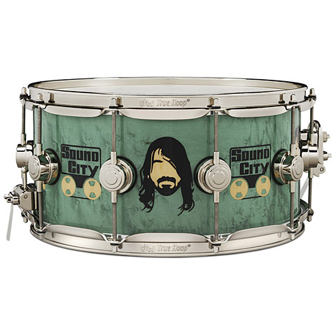 "Малый барабан DW Collector's 14"" x 6,5"" Dave Grohl Icon Snare Drum"