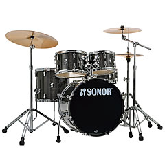 "Sonor AQX 20"" Black Midnight Sparkle Studio Drumset « Batería"