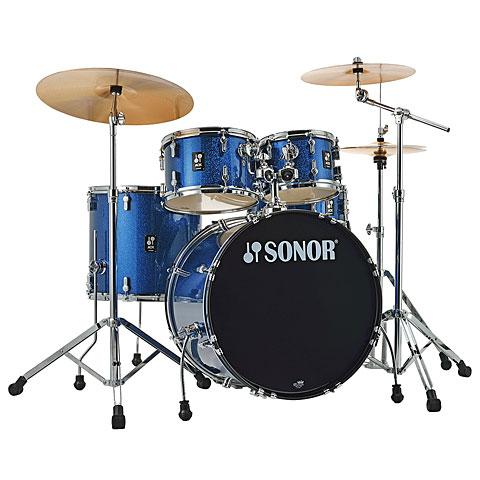"""Schlagzeug Sonor AQX 22"""" Blue Ocean Sparkle Stage Set"""