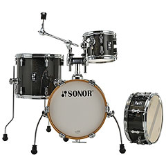 "Sonor AQX 14"" Black Midnight Sparkle Micro Shell Set « Batería"