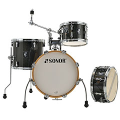 "Sonor AQX 16"" Black Midnight Sparkle Jungle Shell Set « Batería"