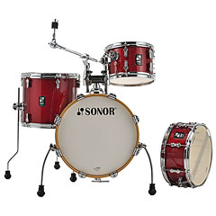 "Sonor AQX 16"" Red Moon Sparkle Jungle Shell Set « Batería"