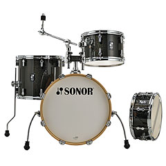 "Sonor AQX 18"" Black Midnight Sparkle Jazz Shell Set « Batería"