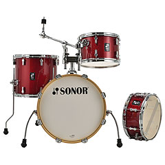 "Sonor AQX 18"" Red Moon Sparkle Jazz Shell Set « Batería"