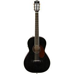 Fender PM-2E Parlor MAH Black Top Limited Edition « Acoustic Guitar