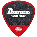 Médiators Ibanez Flat Pick Sand Grip red 0,8 mm