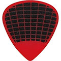 Médiators Ibanez Flat Pick PPA16HSG-YE Sand Grip White 1 mm Red