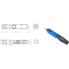 Cleerline SSF SSF-SC-MMFPC-10/10er Pack « Fiber optic connector