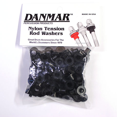 Replacement Unit Danmar Tension Rod Washers 100 Pcs. Black