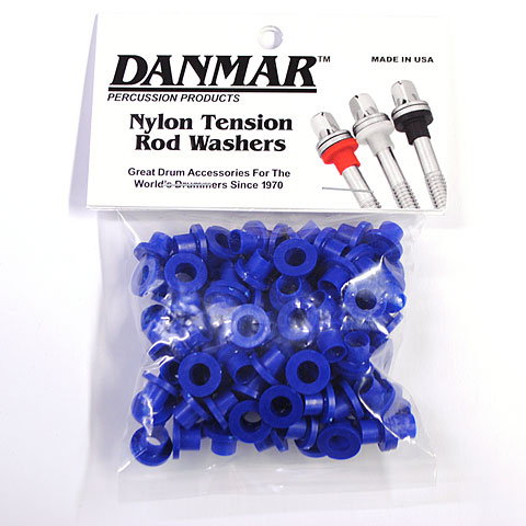 Replacement Unit Danmar Tension Rod Washers 100 Pcs. Blue