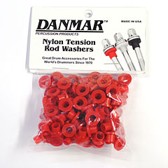 Danmar Tension Rod Washers 100 Pcs. Red « Pieza de recambio
