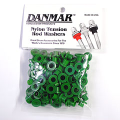 Danmar Tension Rod Washers 100 Pcs. Green « Pieza de recambio
