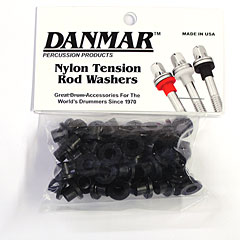 Danmar Tension Rod Washers 50 Pcs. Black « Pièce de rechange