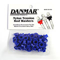 Ersatzteil Danmar Tension Rod Washers 50 Pcs. Blue