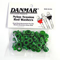 Pièce de rechange Danmar Tension Rod Washers 50 Pcs. Green