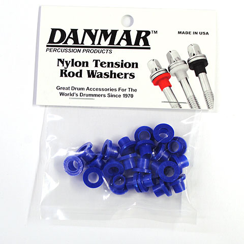 Replacement Unit Danmar Tension Rod Washers 20 Pcs. Blue