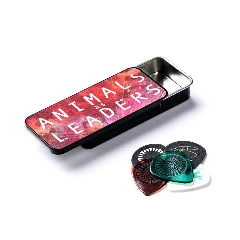 Médiators Dunlop Animals As Leaders Pick Tin, 6 Picks