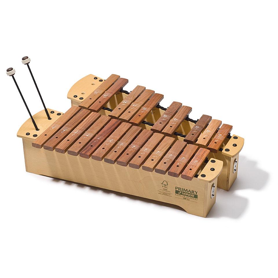 Orffscheinstrumente - Sonor Primary Sopran Xylophone SXP 3.1 Full Set Xylophon - Onlineshop Musik Produktiv