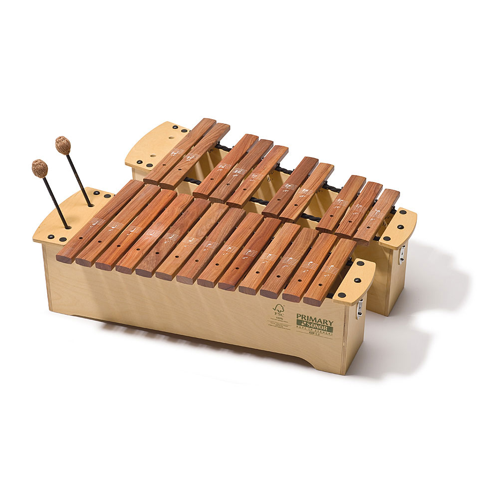 Orffscheinstrumente - Sonor Primary Alto Xylophone AXP 3.1 Full Set Xylophon - Onlineshop Musik Produktiv