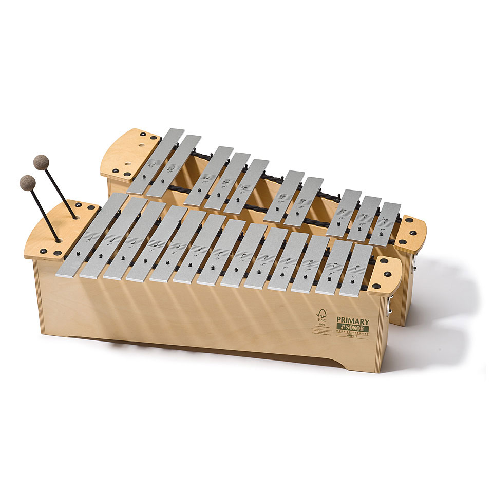 Orffscheinstrumente - Sonor Primary Alto Metallophone AMP 3.1 Full Set Metallophon - Onlineshop Musik Produktiv