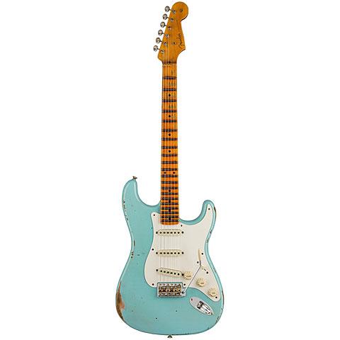 Fender Custom Shop 1957 Relic Strat, Aged Daphne Blue « E-Gitarre