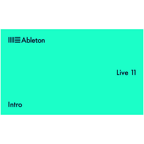 Software DAW Ableton Live 11 Intro Download