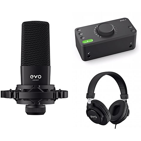 Geluidskaart Audient EVO Start Recording Bundle