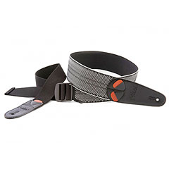 RightOn! Straps Mojo Elastic Spring, black « Gitarrengurt