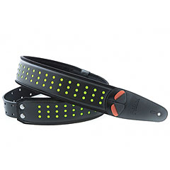 RightOn! Straps Mojo Holes Neon Green « Gitarrengurt