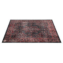 DrumNBase Grey Vintage Drum Mat Black Red « Drum Zubehör