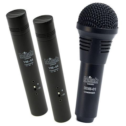 Mikrofon-Bundle Musik Produktiv Professional Jazz Drum Pack