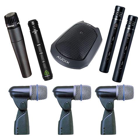 Mikrofon-Bundle Musik Produktiv Advanced Drum Pack