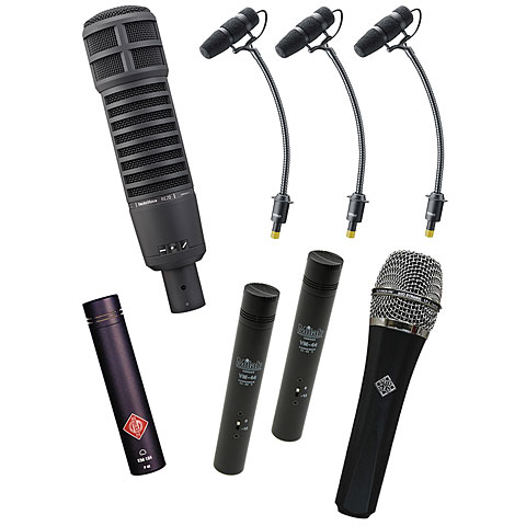 Mikrofon-Bundle Musik Produktiv Professional Drum Pack