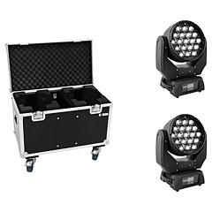 Eurolite Set 2x LED TMH-X5 + Case « Moving Head