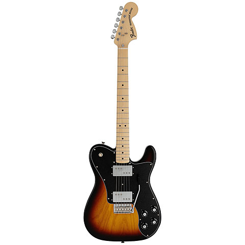 Fender 70's Deluxe Telecaster 3TSB, MN Japan ltd. Edition « E-Gitarre