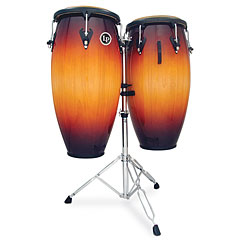 "Latin Percussion Matador Custom 11"" & 11 ¾"" Vintage Sunnburst with Stand « Conga"
