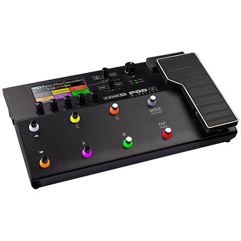Multi-effets guitare électrique Line 6 POD GO Wireless