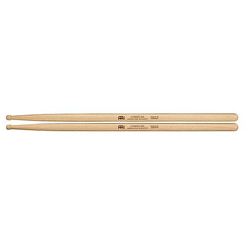 Baquetas para batería Meinl Hybrid 8A American Hickory Drumsticks SB132