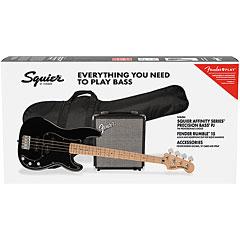 Squier Affinity PJ Bass Pack MN BLK « Pack basse électrique