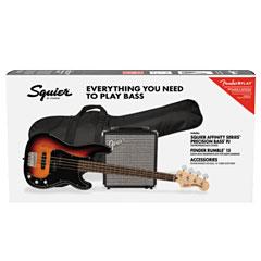 Squier Affinity PJ Bass Pack LRL 3TSB « Pack basse électrique