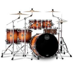 "Mapex Saturn Evolution Exotic Sunburst 22"" Studioease Shell Set « Schlagzeug"