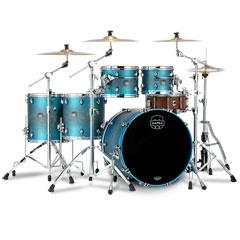 "Mapex Saturn Evolution Exotic Azure Burst 22"" Studioease Shell Set « Schlagzeug"