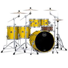 "Mapex Saturn Evolution 22"" Tuscan Yellow Studioease Shell Set « Schlagzeug"